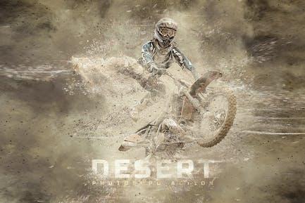 Действие Photoshop пустыни