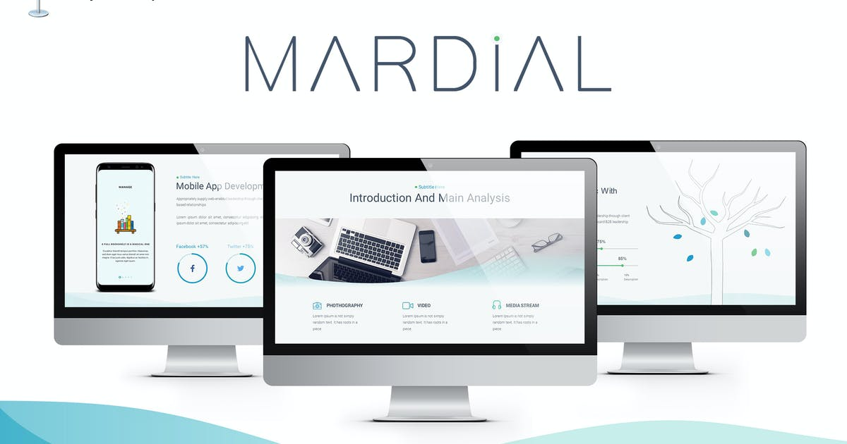 Download Mardial Keynote Template by Unknow