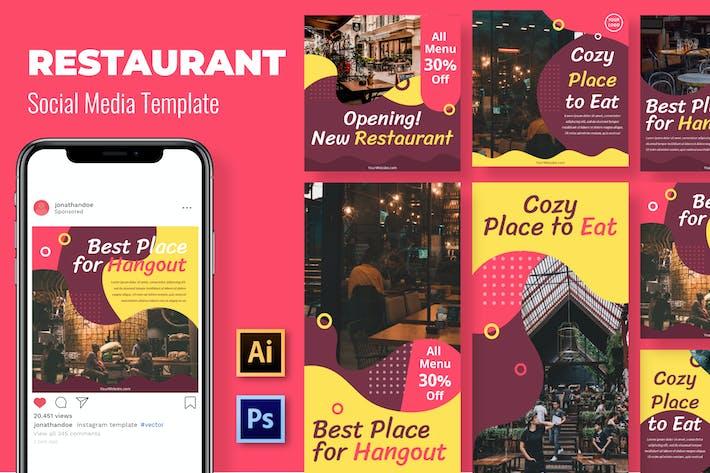 Thumbnail for Opening Restaurant Social Media