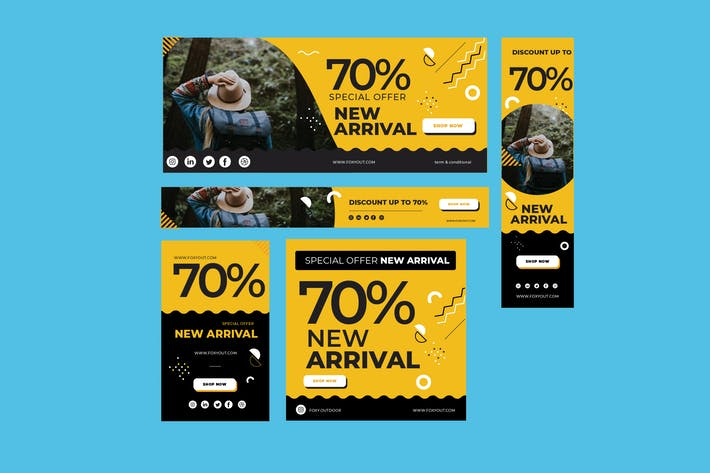 Thumbnail for Banner Ads Template