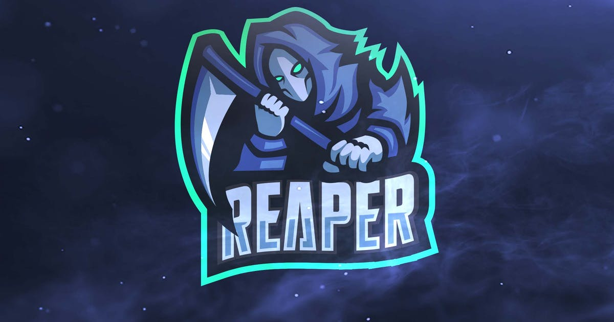 Download Reaper Sport and Esports Logos by ovozdigital