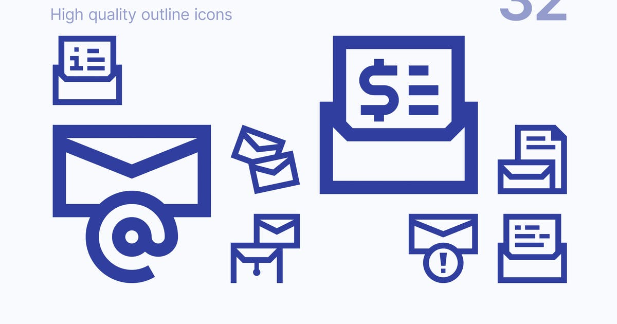 Download Mail Icons by polshindanil