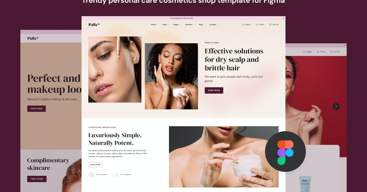 Download Palle — Personal Care Shop Template by Middltone