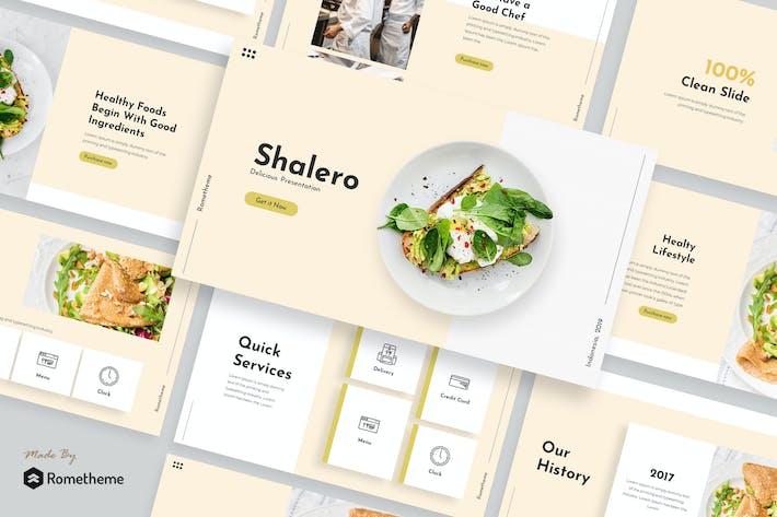 Thumbnail for Shalero - Presentation Template