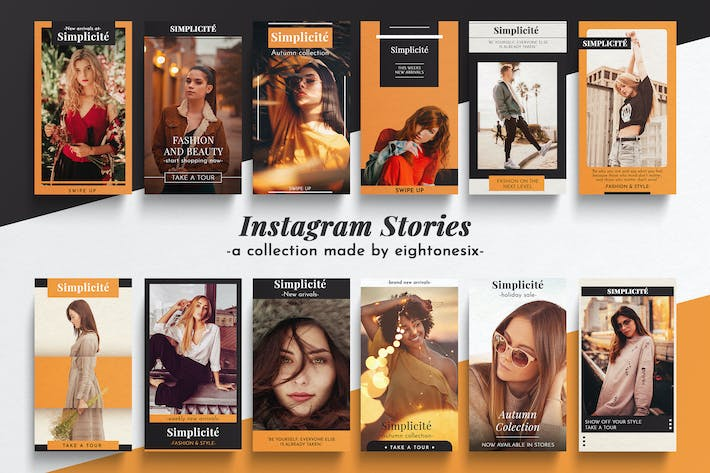 Thumbnail for Fashion Instagram Story Templates