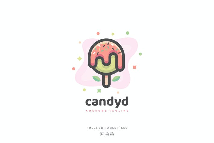 Thumbnail for Simple Candy Kid Color Logo