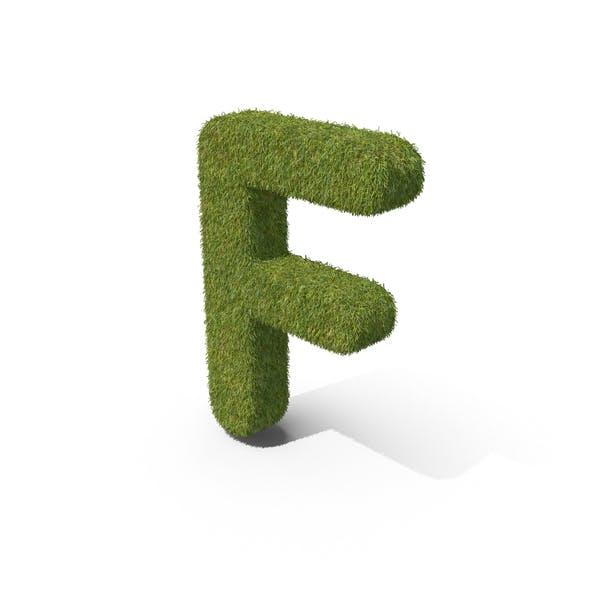 Трава заглавная буква F