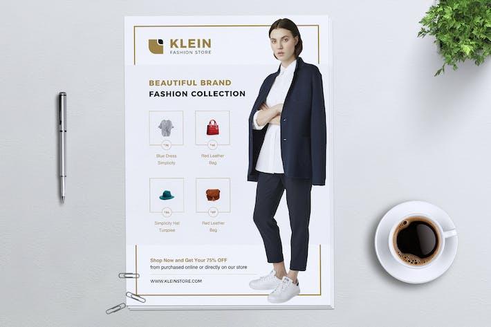 Thumbnail for KLEIN Fashion Store Flyer