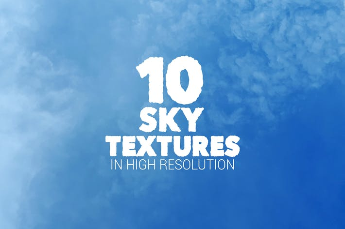 Thumbnail for Sky Textures x10
