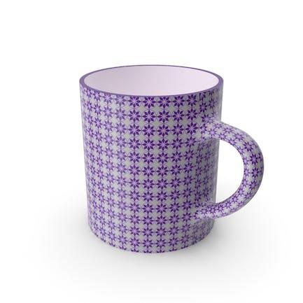 Copa Violeta Estampada