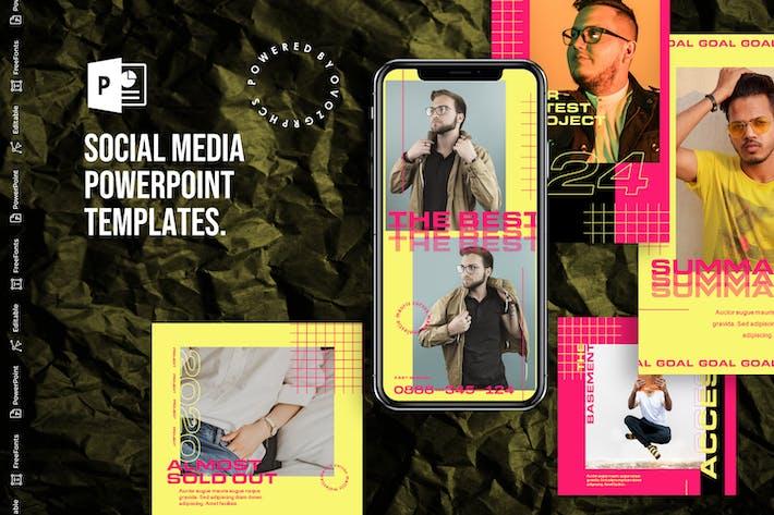 Thumbnail for Шаблон PowerPoint для социальных сетей