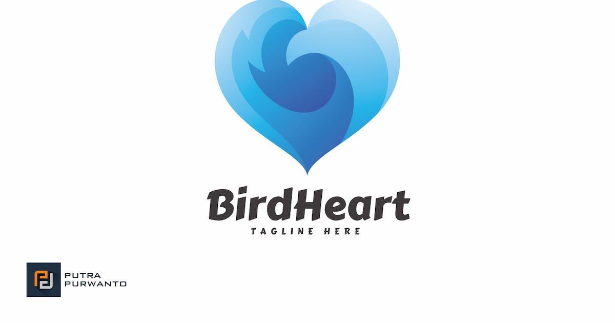 Download Bird Heart - Logo Template by putra_purwanto