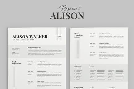 Resume Template Professional