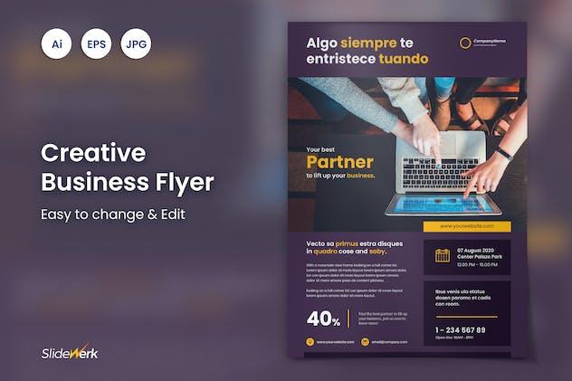 Creative Business Flyer 31 - Slidewerk