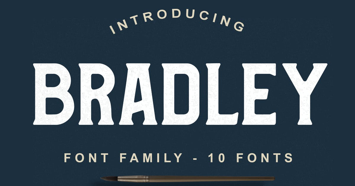 Download Bradley Font Family by shirongampus