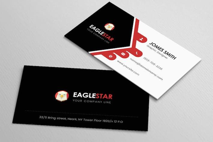Thumbnail for EagleStar - Business Card Template