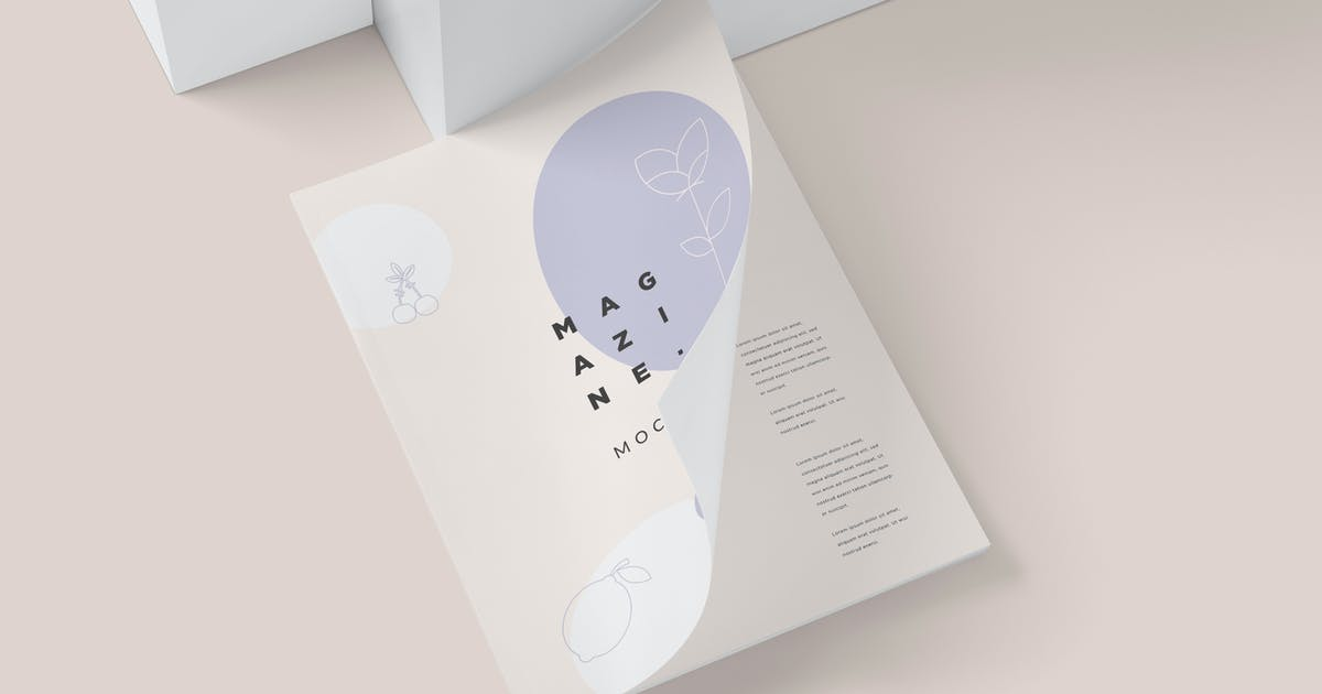 Download 5 Magazine Mockups by DesignNeutrons