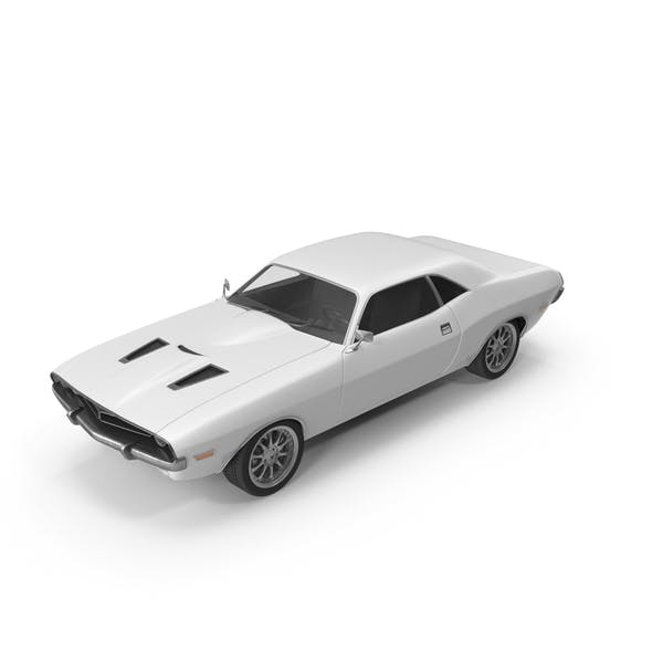 Thumbnail for Retro Car White