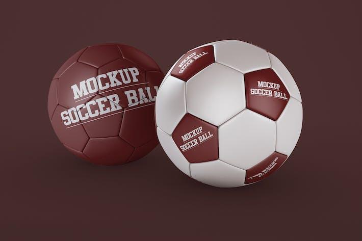 Thumbnail for Soccer Ball Mockup