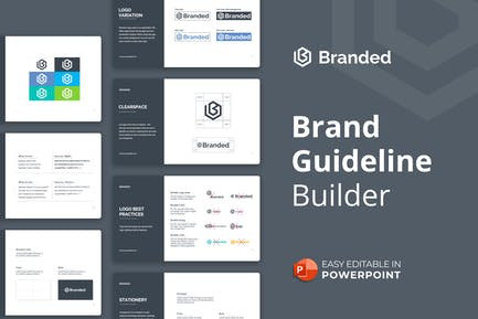 Brand Guideline Builder Presentation Template