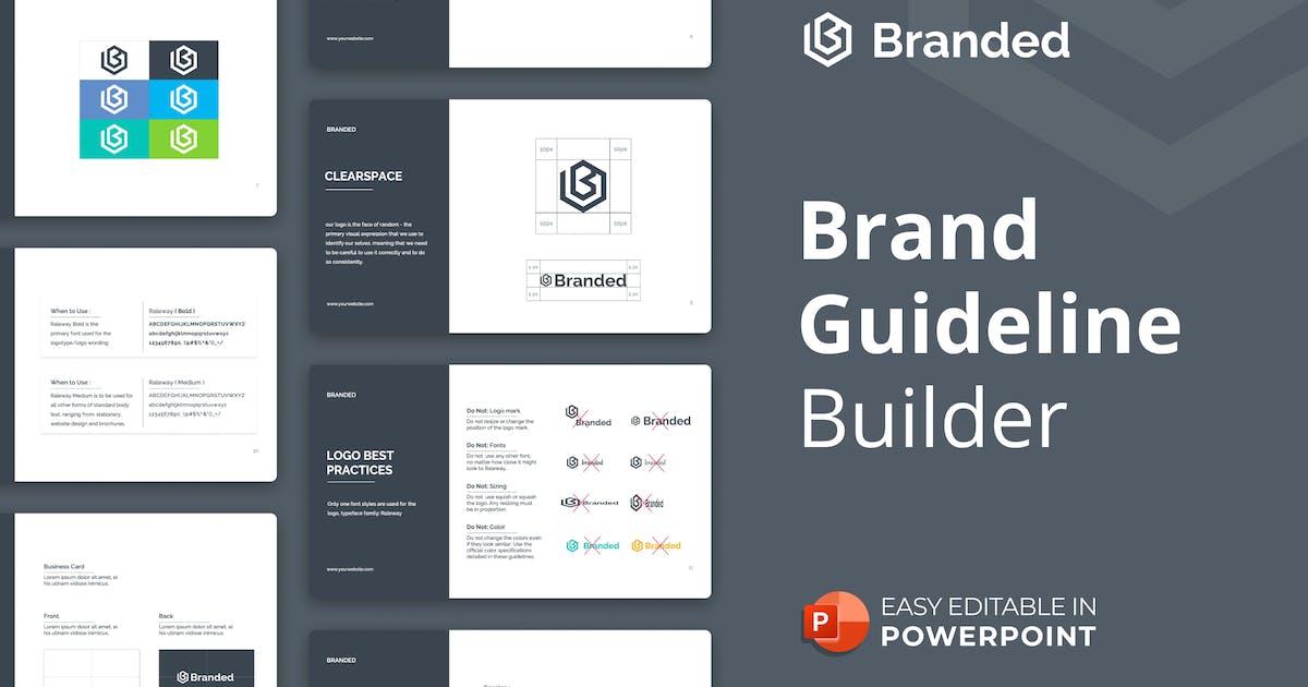 Download Brand Guideline Builder Presentation Template by Premast
