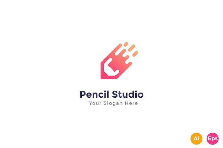 Thumbnail for Pencil Studio Logo Template
