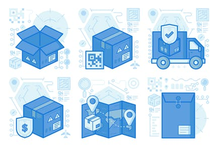 Open Package UI UX Illustrations