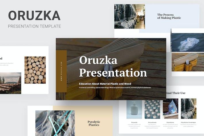 Thumbnail for Oruzka - Образование по пластиKeynote и дереву