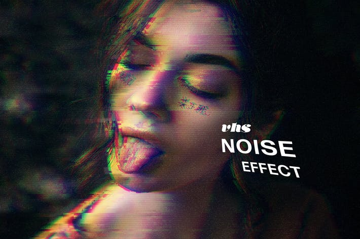 Thumbnail for VHS Noise Photo Effect