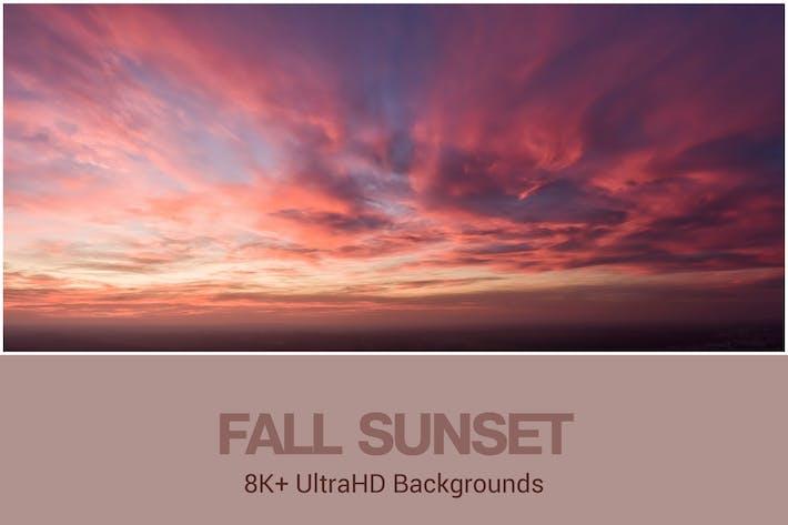 Thumbnail for 8K+ UltraHD Fall Sunset Backgrounds