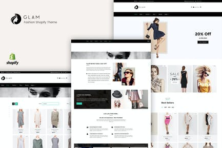 Glam - Moda Shopify Tema