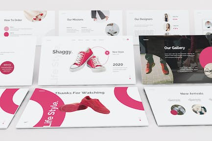 Shoes Store Kenote Template