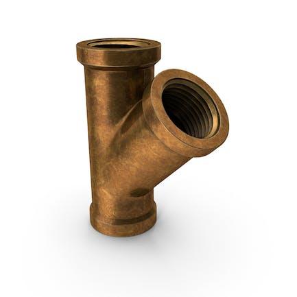 Vintage Brass Pipe