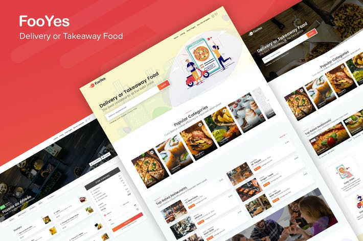 Thumbnail for FooYes - Delivery or Takeaway Food