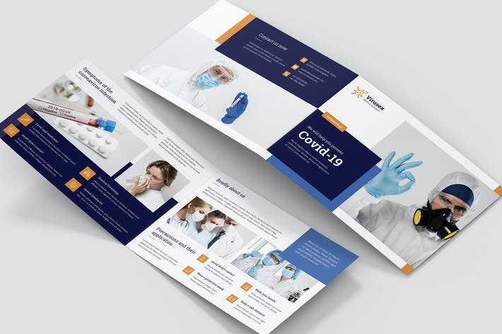 Thumbnail for Brochure – Medical Business Bi-Fold A5 Landscape