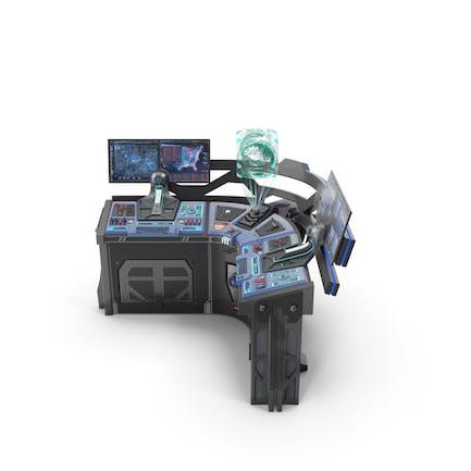 Sci Fi Corner Control Panel