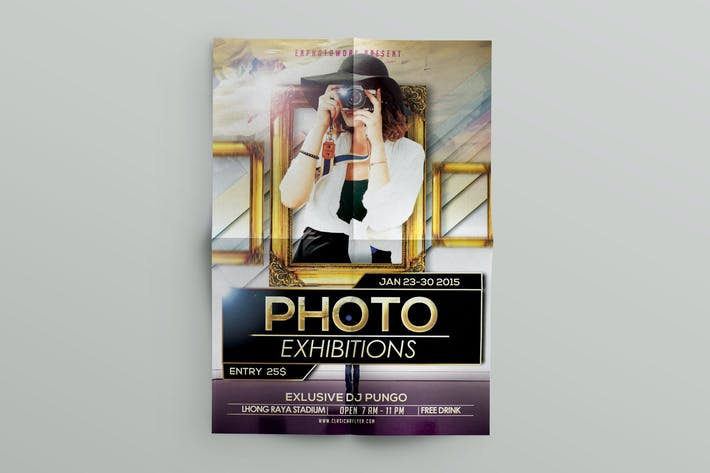 Thumbnail for Photo Flyer Template