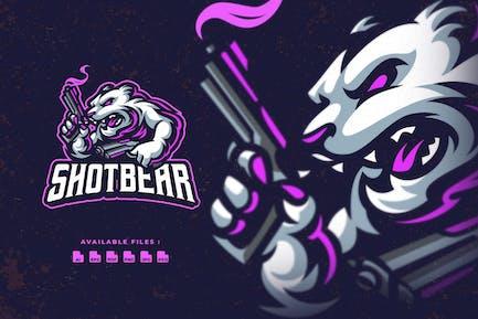 Shotbear Esport Logo