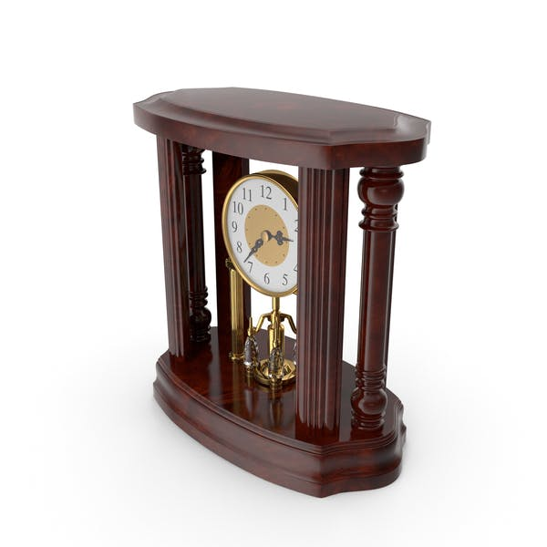 Classical Table Clock 2pm
