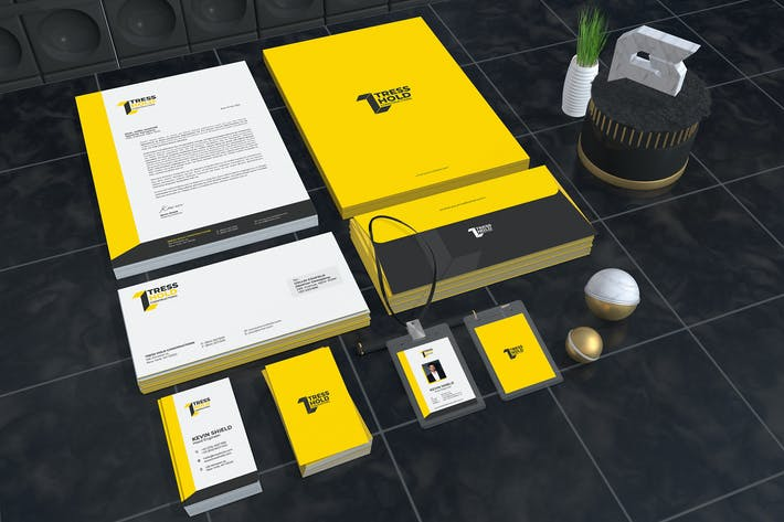 Thumbnail for Tress Hold Construction Corporate Identity