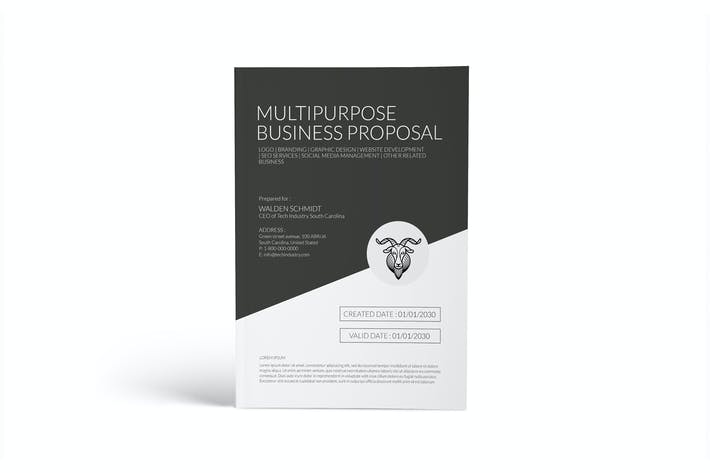 Thumbnail for Multipurpose Business Proposal