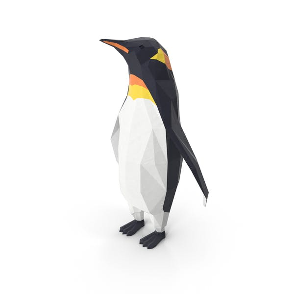 Thumbnail for Low-Poly-Pinguin