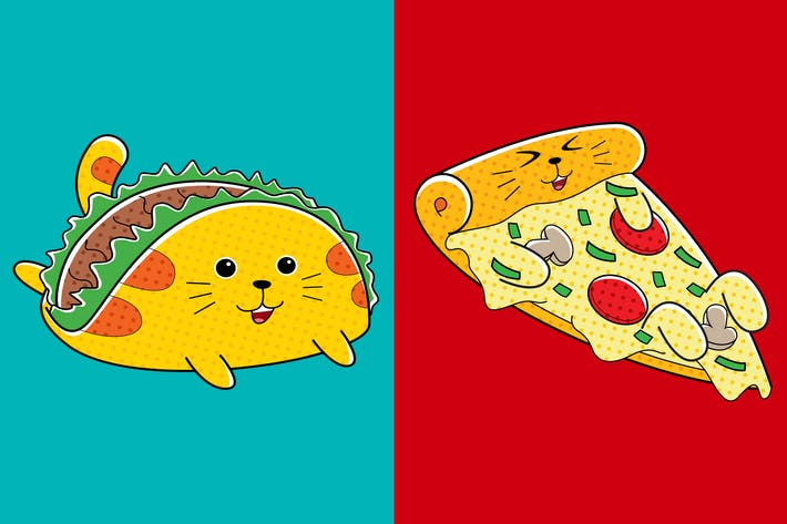 Thumbnail for Cats Fast Food (Pizza & Taco)