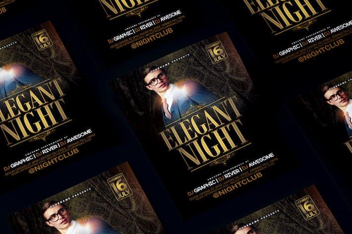 Thumbnail for Élégant dépliant nuit