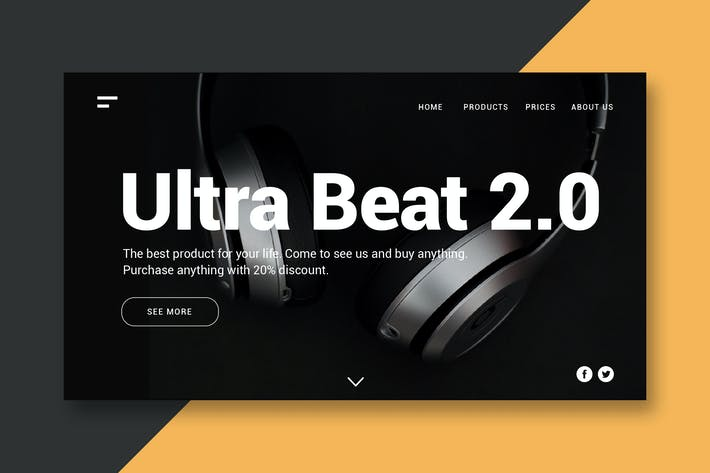 Thumbnail for Ultra Beat - Landing Page