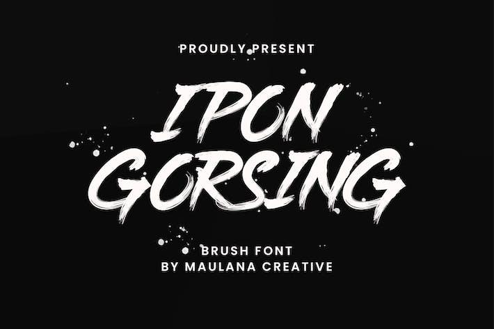 Thumbnail for Ipon Gorsing Brush Fuente