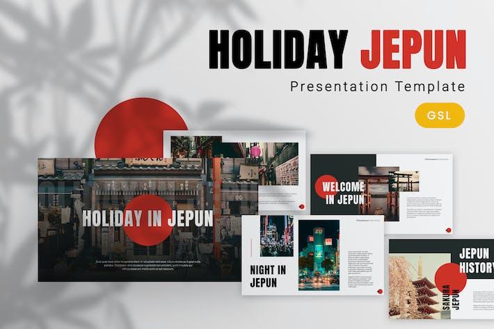 Thumbnail for Jepun - Travelling Google Slides Template