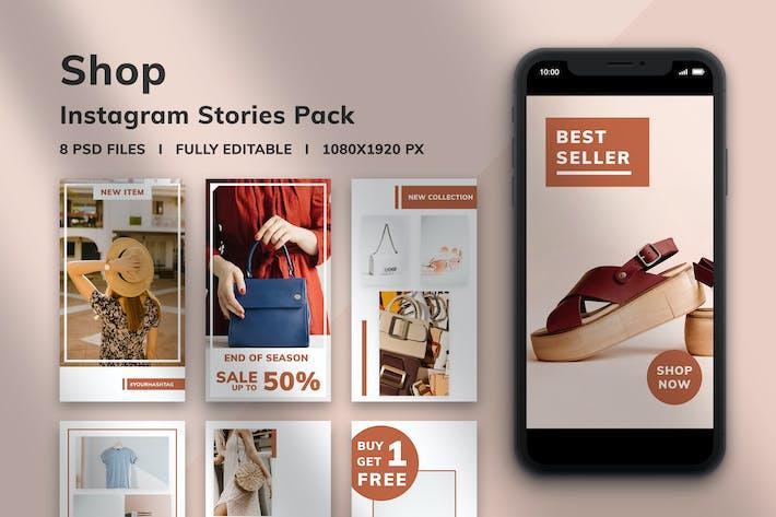 Thumbnail for Shop Instagram Stories Pack