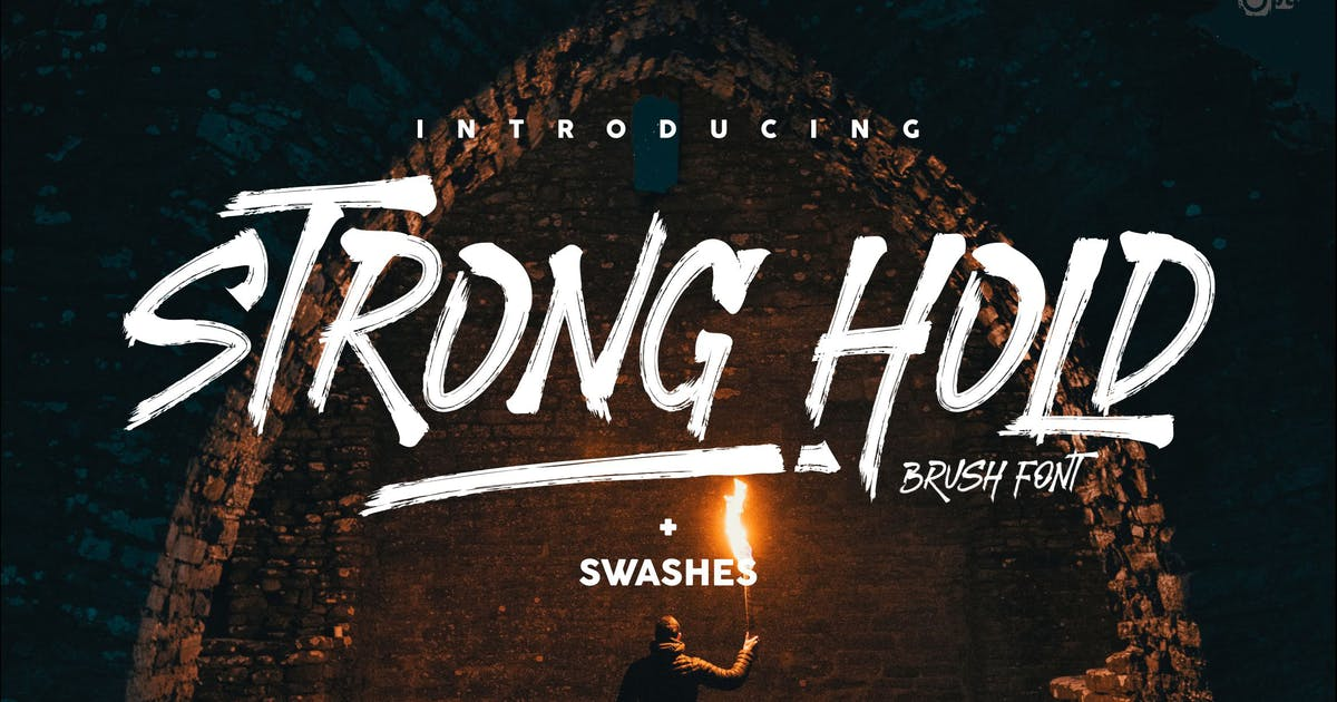 Download STRONGHOLD Brush font by inumocca