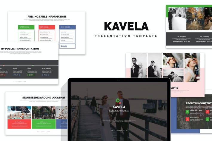 Thumbnail for Kavela : Wedding Ceremony Planner Google Slides